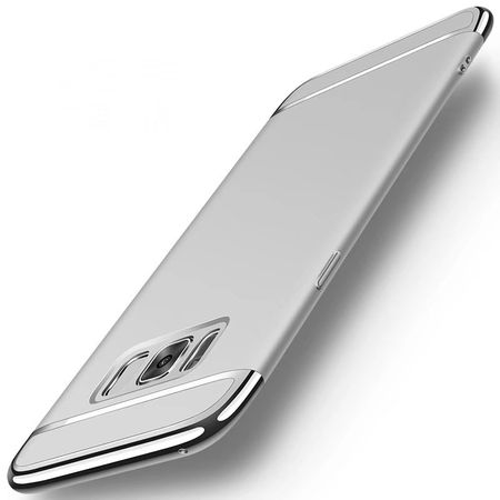 Samsung Galaxy A8 Plus Anki Royal Hard Case Cover Hülle SILBER – Bild 1