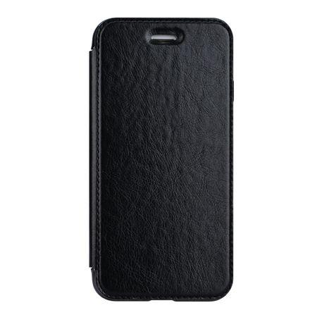Samsung Galaxy S9 Leder Etui Hülle Flip Case SCHWARZ – Bild 2