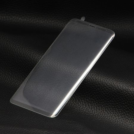 Samsung Galaxy S9 Plus RANDLOS Panzerglas Glas Schutzfolie Schutzglas Curved Tempered Glass TRANSPARENT – Bild 4