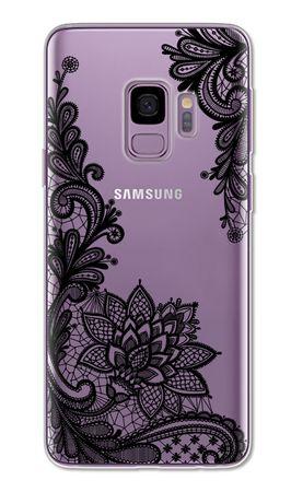 Samsung Galaxy S9 Plus Lace Rüschchen Mandala Henna Hülle Gummi TPU Silikon Case Cover – Bild 1
