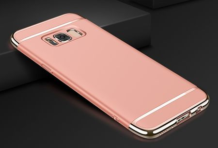 Samsung Galaxy S9 Plus Anki Royal Hard Case Cover Hülle ROSÉGOLD Pink – Bild 2