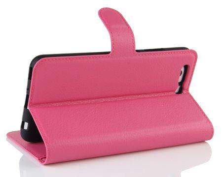 Sony Xperia XA2 Flip Etui Leder Case Tasche Hülle mit Kartenfach PINK – Bild 4