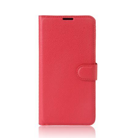 Sony Xperia XA2 Flip Etui Leder Case Tasche Hülle mit Kartenfach ROT – Bild 2