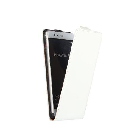 Sony Xperia XA2 Leder Flip Case Cover Etui Tasche Vertikal Hülle WEISS – Bild 2