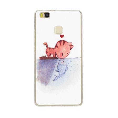 Sony Xperia XA2 Katze Case Fisch Gummi Hülle TPU Silikon Kiss Cover – Bild 1