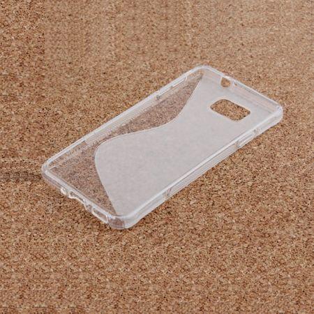 Samsung Galaxy Alpha S-Line Gummi TPU Silikon Clear Case Cover Hülle Klar TRANSPARENT – Bild 2