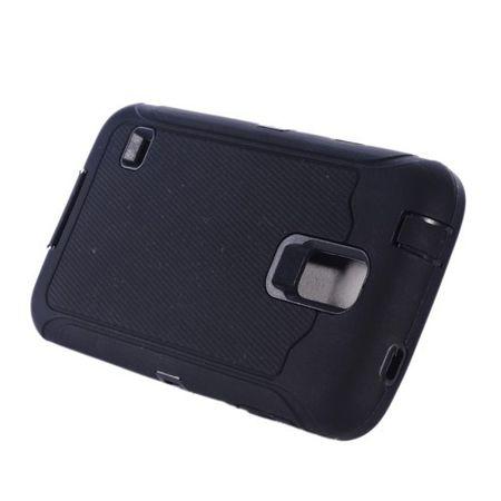 Samsung Galaxy S5 Total Outdoor Case Shock Proof Cover Gummi TPU Hülle SCHWARZ – Bild 2