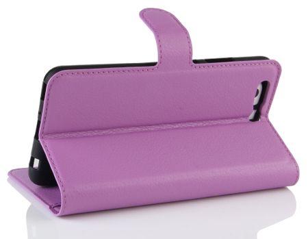 Sony Xperia XA2 Ultra Flip Etui Leder Case Tasche Hülle mit Kartenfach VIOLETT – Bild 4