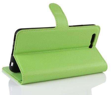 Sony Xperia XA2 Ultra Flip Etui Leder Case Tasche Hülle mit Kartenfach GRÜN – Bild 4