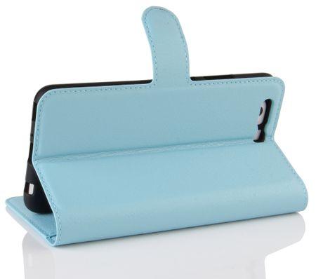 Sony Xperia XA2 Ultra Flip Etui Leder Case Tasche Hülle mit Kartenfach BLAU – Bild 4