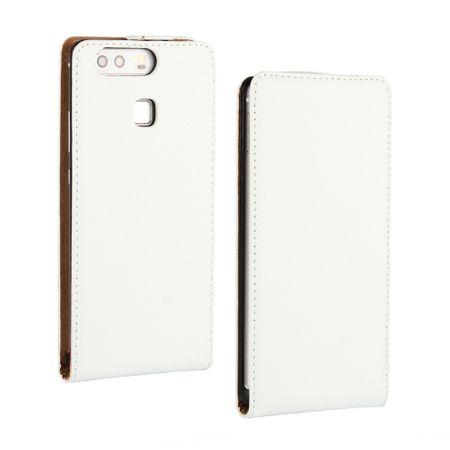 Sony Xperia XA2 Ultra Leder Flip Case Cover Etui Tasche Vertikal Hülle WEISS – Bild 1