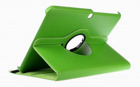 "Samsung Galaxy Tab 4 8.0"" 360° Flip Etui Tasche Cover Leder Case GRÜN – Bild 1"