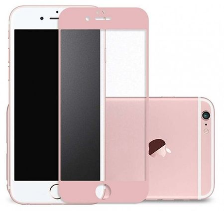 iPhone 6S Plus / 6 Plus Randlos PANZERGLAS Abgerundetes Tempered Glass Glas Schutzfolie ROSÉGOLD – Bild 1