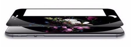 iPhone 7 RANDLOS Panzerglas Glas Schutzfolie Schutzglas Curved Tempered Glass SCHWARZ – Bild 2