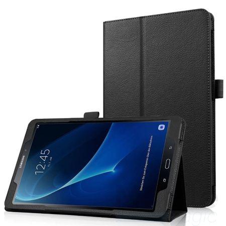 """Samsung Galaxy Tab S2 9.7"""" Leder Smart Case Cover Etui Hülle Tasche SCHWARZ"""