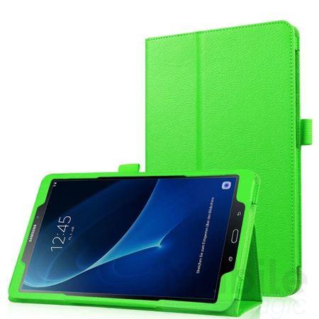 Samsung Galaxy Tab A 10.1 Leder Smart Case Cover Etui Hülle Tasche GRÜN