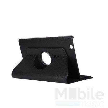 "Huawei MediaPad M3 8.4"" 360° Flip Etui Leder Smart Case Tasche Hülle SCHWARZ – Bild 1"
