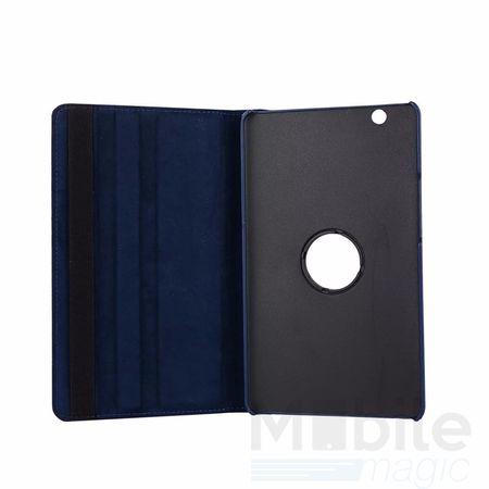 "Huawei MediaPad M3 8.4"" 360° Flip Etui Leder Smart Case Tasche Hülle BLAU – Bild 3"