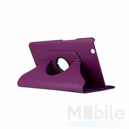 "Huawei MediaPad M3 8.4"" 360° Flip Etui Leder Smart Case Tasche Hülle VIOLETT – Bild 1"