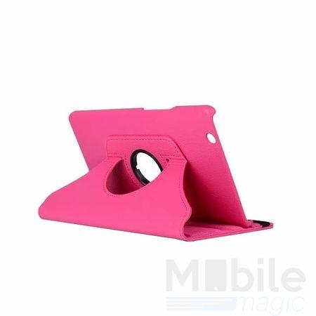"Huawei MediaPad M3 8.4"" 360° Flip Etui Leder Smart Case Tasche Hülle PINK – Bild 1"