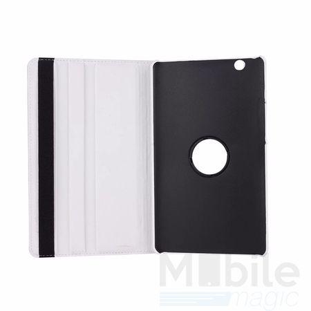 """Huawei MediaPad M3 8.4"""" 360° Flip Etui Leder Smart Case Tasche Hülle WEISS – Bild 3"""