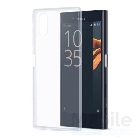 Sony Xperia XZ TPU Gummi Hülle Klar Silikon Crystal Clear Case TRANSPARENT – Bild 2