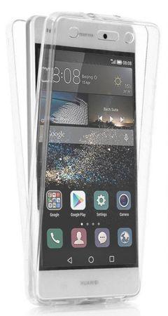 Huawei P9 Lite TPU Gummi 360° Hülle RUNDUM Schutz Silikon Klar TRANSPARENT