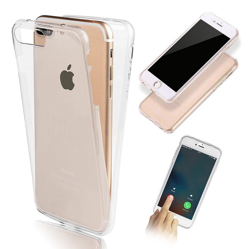 Iphone 7 Plus Tpu Gummi 360 Hulle Rundum Schutz Silikon Klar