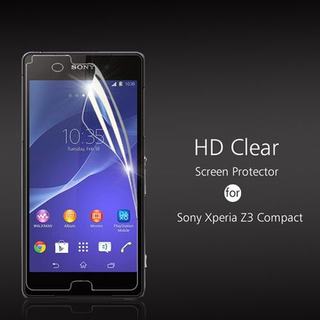 Sony Xperia Z3 Compact ULTRA Clear Glanz Klar Schutzfolie Display Folie