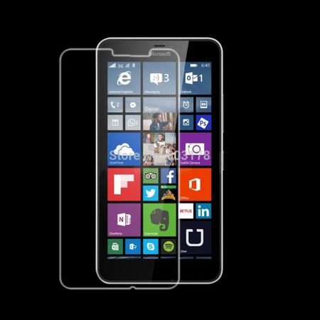 Nokia Lumia 640 ULTRA Clear Glanz Klar Schutzfolie Display Folie