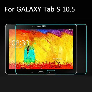 Samsung Galaxy Tab S 10.5 ULTRA Clear Glanz Klar Schutzfolie Display Folie
