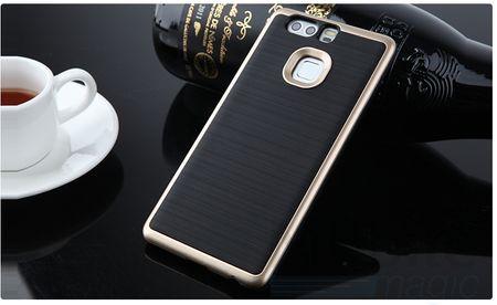 Huawei P9 Hybrid Hard Case PC + TPU Hülle Cover GOLD – Bild 2