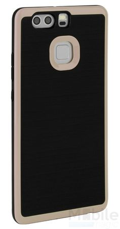 Huawei P9 Plus Hybrid Hard Case PC + TPU Hülle Cover GOLD – Bild 1