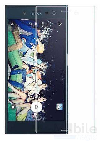 Sony Xperia XZ RANDLOS Panzerglas Glas Schutzfolie Schutzglas Curved Tempered Glass TRANSPARENT – Bild 3