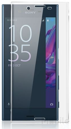 Sony Xperia XA RANDLOS Panzerglas Glas Schutzfolie Schutzglas Curved Tempered Glass TRANSPARENT