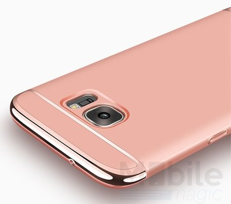Samsung Galaxy S7 Edge Anki Royal Hard Case Cover Hülle Pink ROSÉGOLD – Bild 2