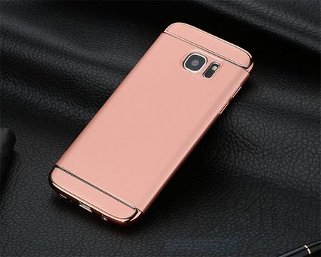 Samsung Galaxy S7 Edge Anki Royal Hard Case Cover Hülle Pink ROSÉGOLD – Bild 3