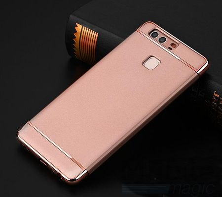 Huawei P9 Plus Anki Royal Hard Case Cover Hülle Pink ROSÉGOLD – Bild 2