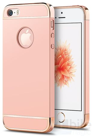 iPhone SE / 5S / 5 Anki Royal Hard Case Cover Hülle Pink ROSÉGOLD