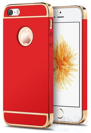 iPhone SE / 5S / 5 Anki Royal Hard Case Cover Hülle ROT – Bild 1