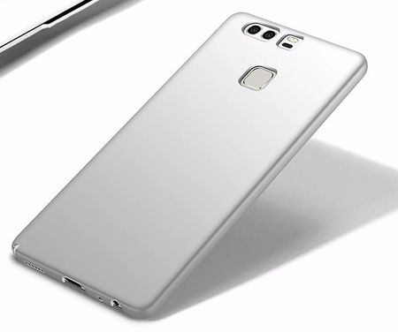Huawei P9 Plus Anki Shield Hardcase Cover Case Hülle SILBER – Bild 2