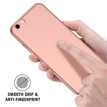 iPhone 6S / 6 Anki Shield Hardcase Cover Case Hülle Pink ROSÉGOLD – Bild 6
