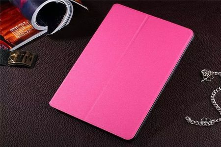 Samsung Galaxy Tab 4 10.1 Smart Flip Etui Hülle Leder Case Tasche PINK ROSA – Bild 2