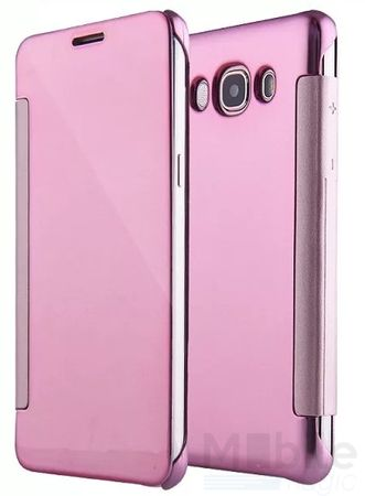 Samsung Galaxy A5 2015 Clear Window View Case Cover Spiegel Mirror Hülle ROSÉGOLD