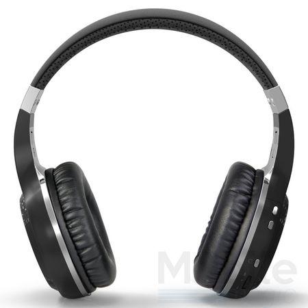 Bluedio Bluetooth Over-Ear Kopfhörer Hurricane Turbine Headset SCHWARZ – Bild 3