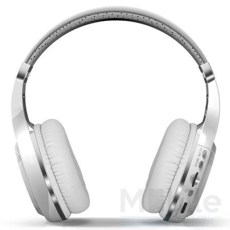 Bluedio Bluetooth Over-Ear Kopfhörer Hurricane Turbine Headset WEISS – Bild 3