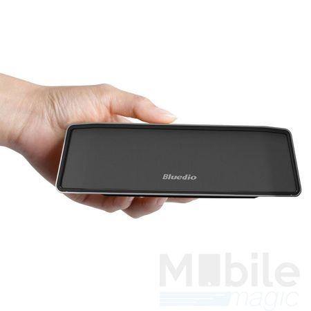 Bluedio Bluetooth Lautsprecher Speaker Schwarz Silber – Bild 2