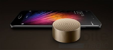 Xiaomi Bluetooth Mini Lautsprecher Speaker GOLD – Bild 2