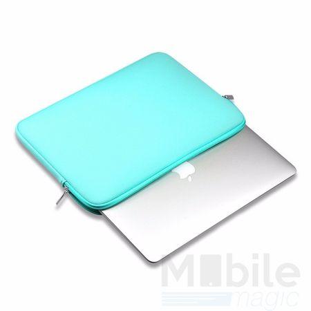 """15"""" Universal Laptop Tablet Notebook Tasche Schutzhülle Case in BLAU / HELLBLAU – Bild 2"""