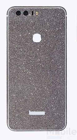 Huawei P9 Full Body Glitzer Sticker Bling Skin in SCHWARZ – Bild 1